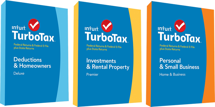 50% off Turbo Tax 2014 Deluxe, Premier, and Home & Business