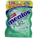 Mentos Pure Fresh Sugar-Free Chewing Gum, 120 ct, $2.98 Prime exclusive