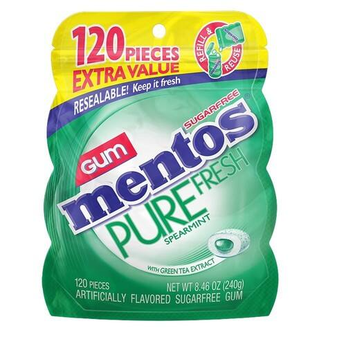 Back Again...Mentos Pure Fresh Sugar-Free Chewing Gum, 120 ct, $2.98 Prime exclusive