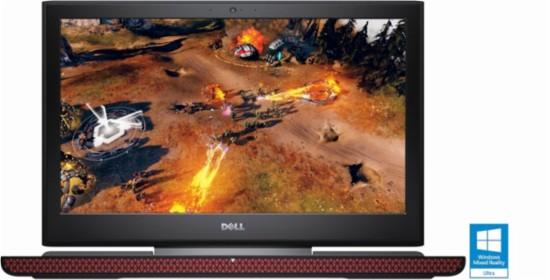 Dell Inspiron 15 Gaming 7567 15.6″ IPS Display Notebook - Core i5 7300HQ 2.5 GHz - 8 GB RAM - GTX 1050TI 4GB- 256 GB SSD - Black Free Shipping Best Buy YMMV