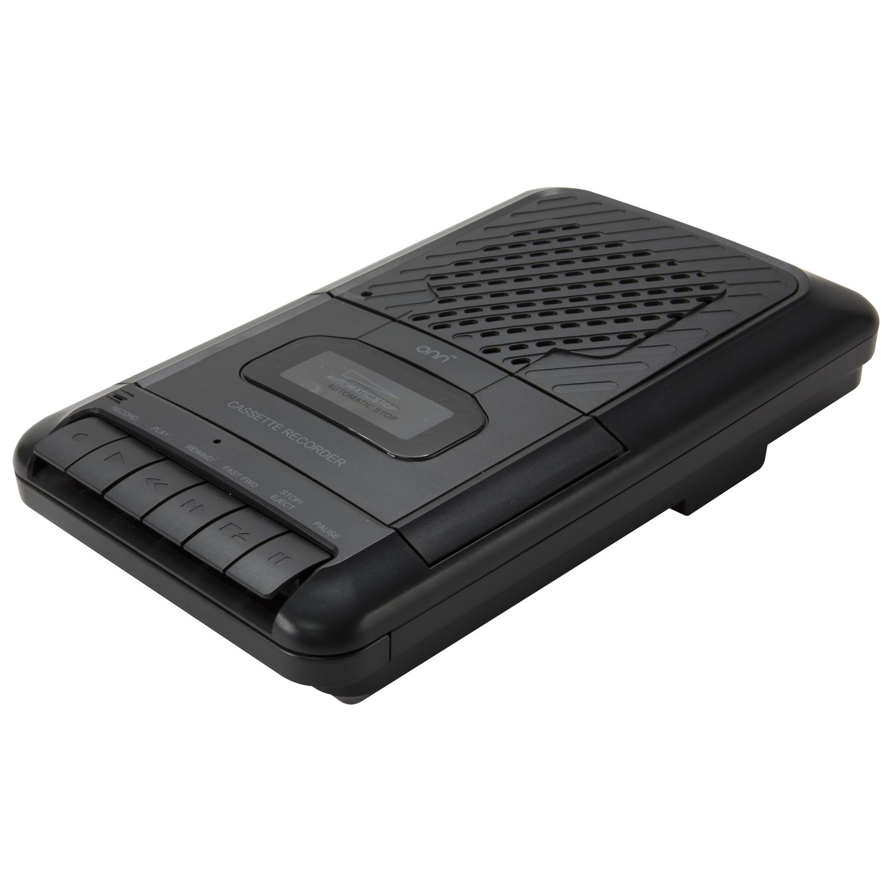 Walmart clearance - ONN Cassette Recorder $15
