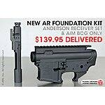 GUN Anderson Arms AR upper, lower, and BCG, $140, free shipping