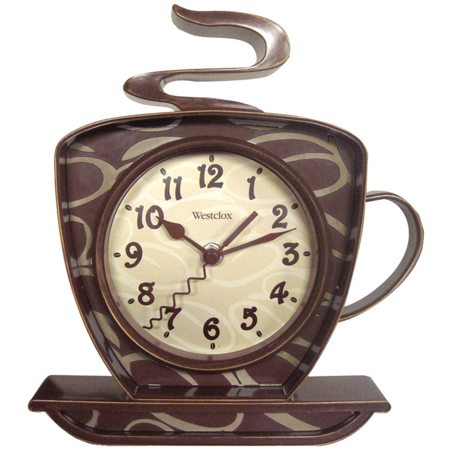 Westclox Coffee Mug Wall Clock, $4.59 at Amazon/Target/Walmart