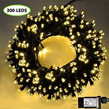 105ft 300 Led Christmas String Lights 17 97 Slickdeals