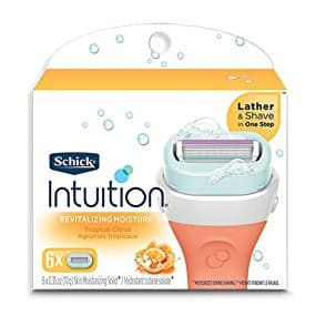 Schick Intuition Revitalizing Moisture Razor Blade Refills for Women, 6 Count - $10.45 with S&S, Free Ship at Amazon