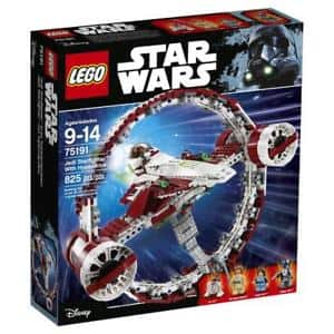 LEGO Star Wars Jedi Starfighter with Hyperdrive (75191) $67.02