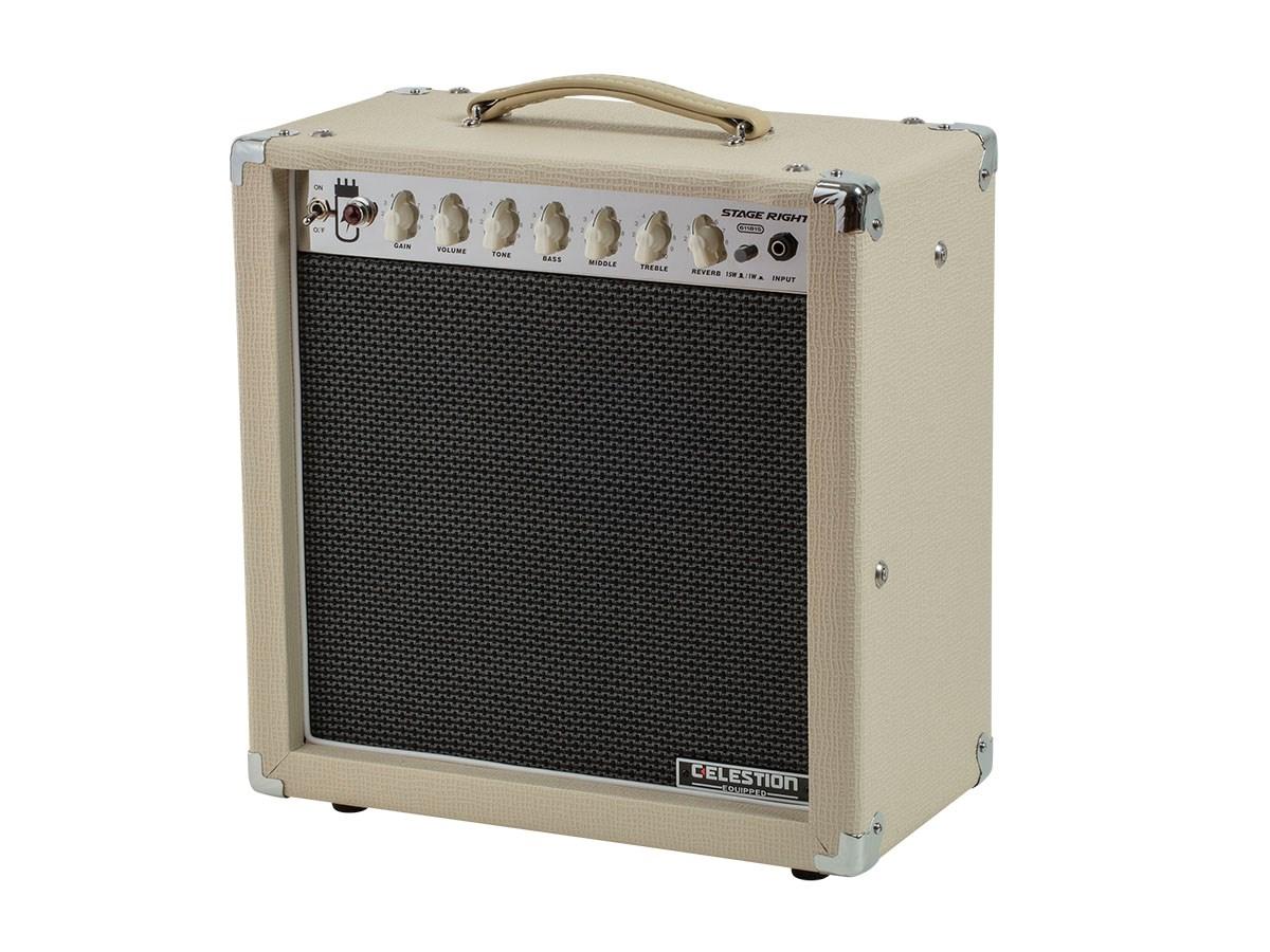Monoprice Guitar Combo Tube Amp (15-Watt, 1x12)  w/ Celestion Speaker and Spring Reverb $160+sh