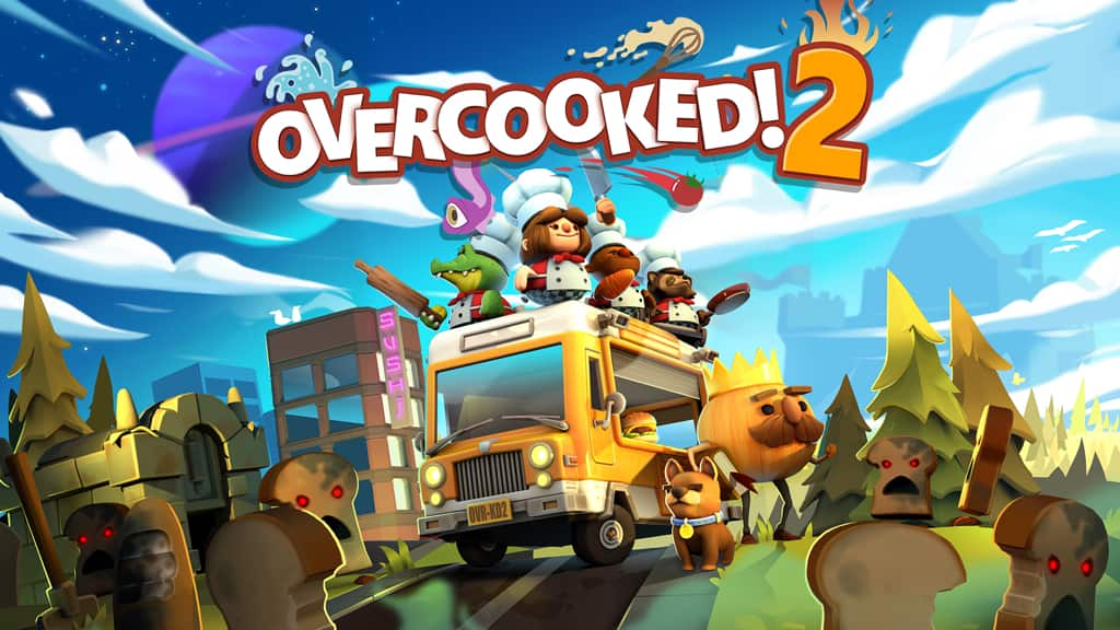 Overcooked! 2 for Nintendo Switch 50% Off