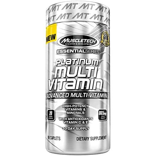 MuscleTech Platinum Multivitamin / Multi-Vitamin. $7.64 w/coupon and S&S @amazon