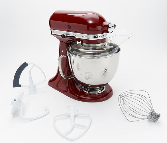 $249 KitchenAid Artisan Stand Mixer w/ Flex Edge