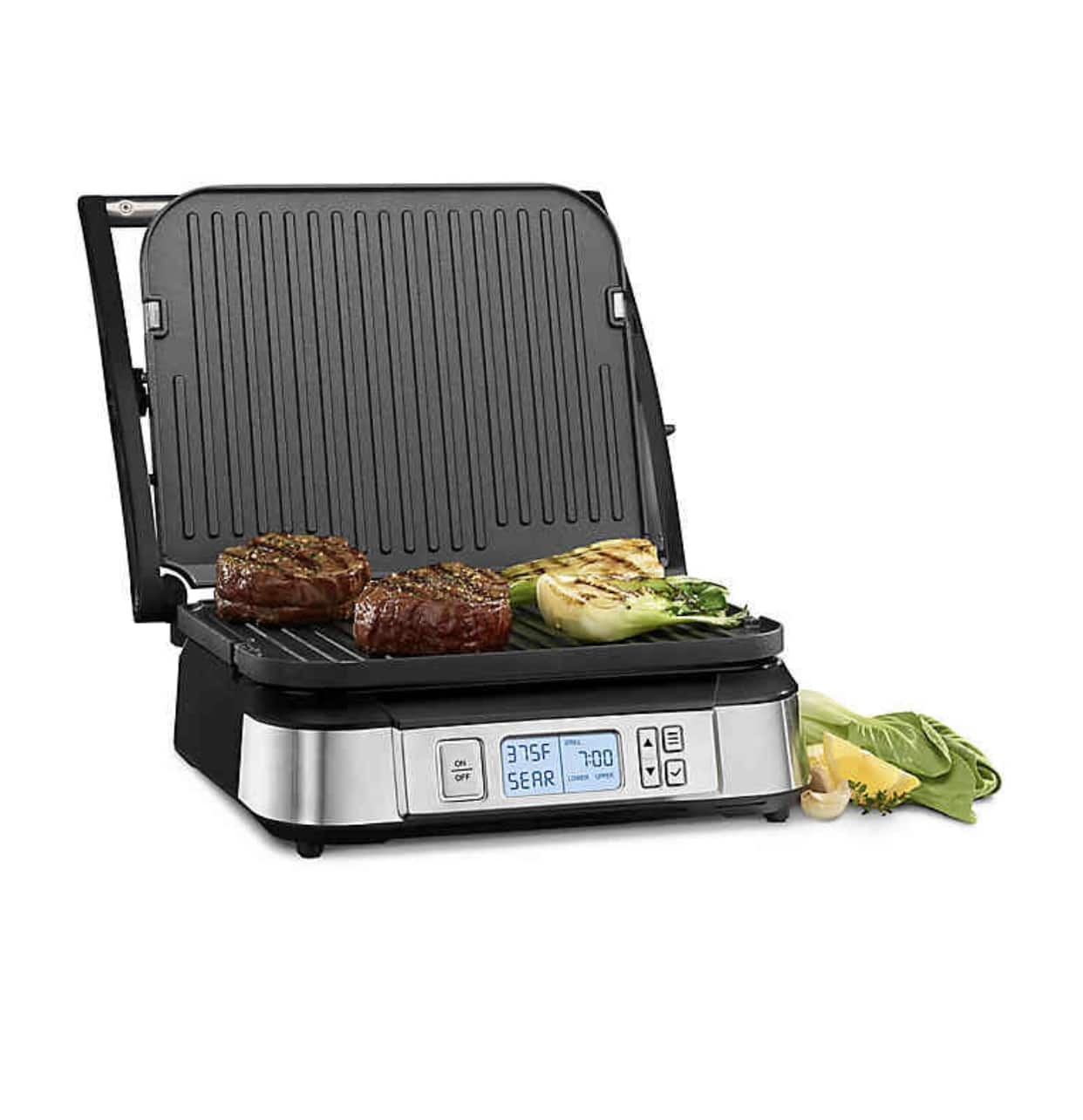 BBB with coupon YMMV - Cuisinart Griddler Stainless Steel Electric Grill  Griddle Panini Press