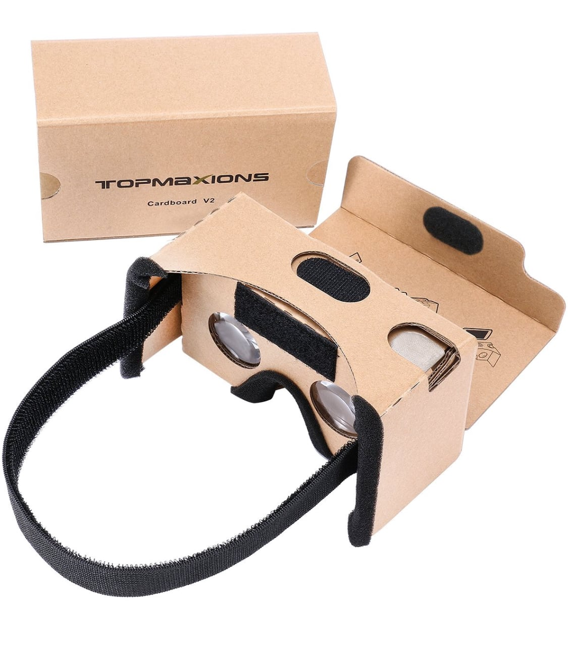 Google Cardboard 3D VR Virtual Reality DIY VR Headset For 3D Movies and Games $6.99 AC FS w/Amazon Prime
