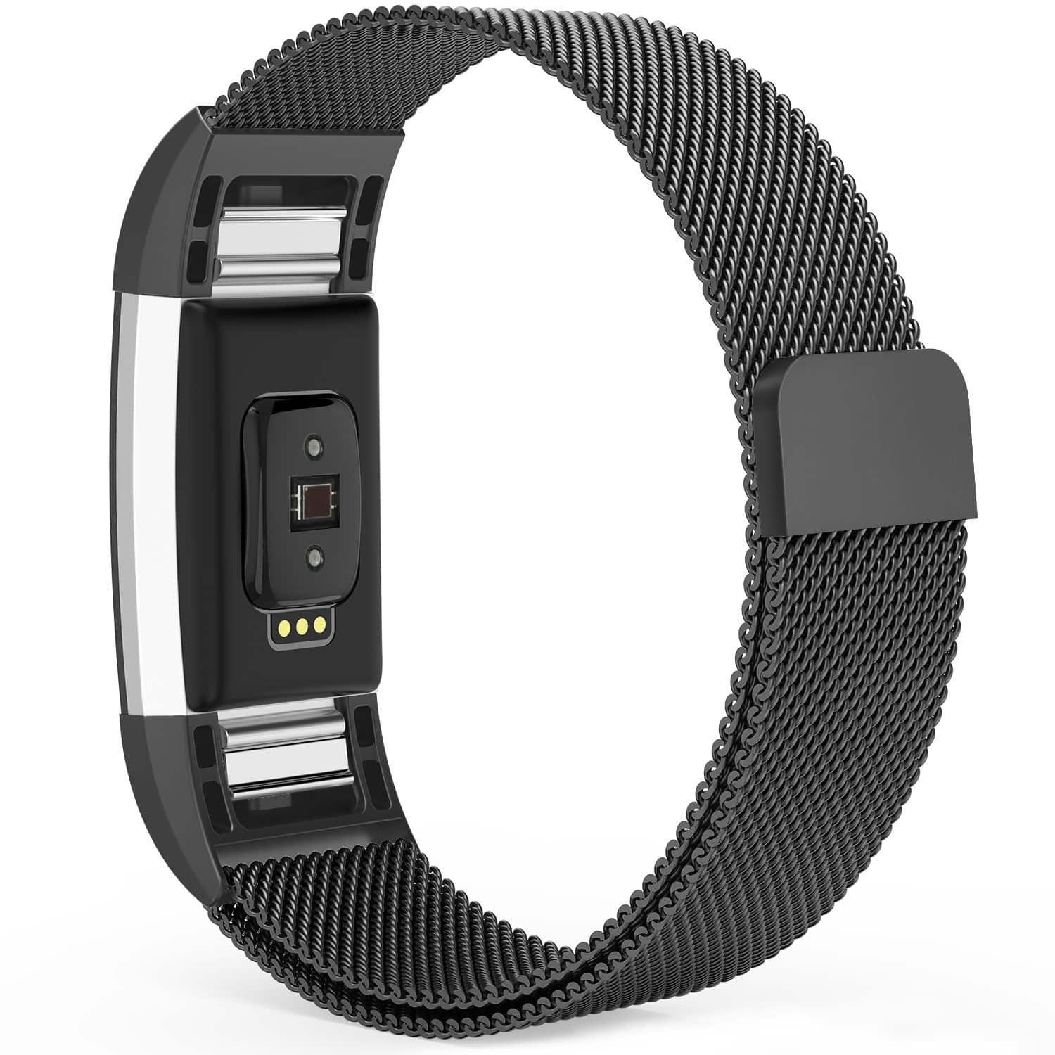 Fitbit Charge 2 Milanese Loop Replacement Bands (Various Sizes) $5.98