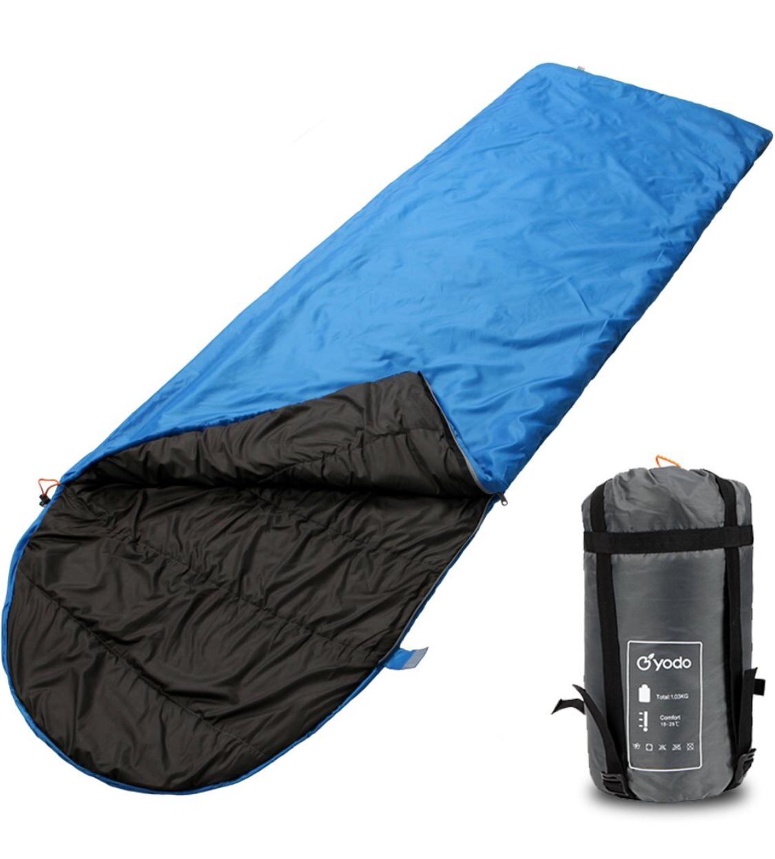 Yodo Compact Warm Weather Sleeping Bag $11.94 AC FS @Amazon