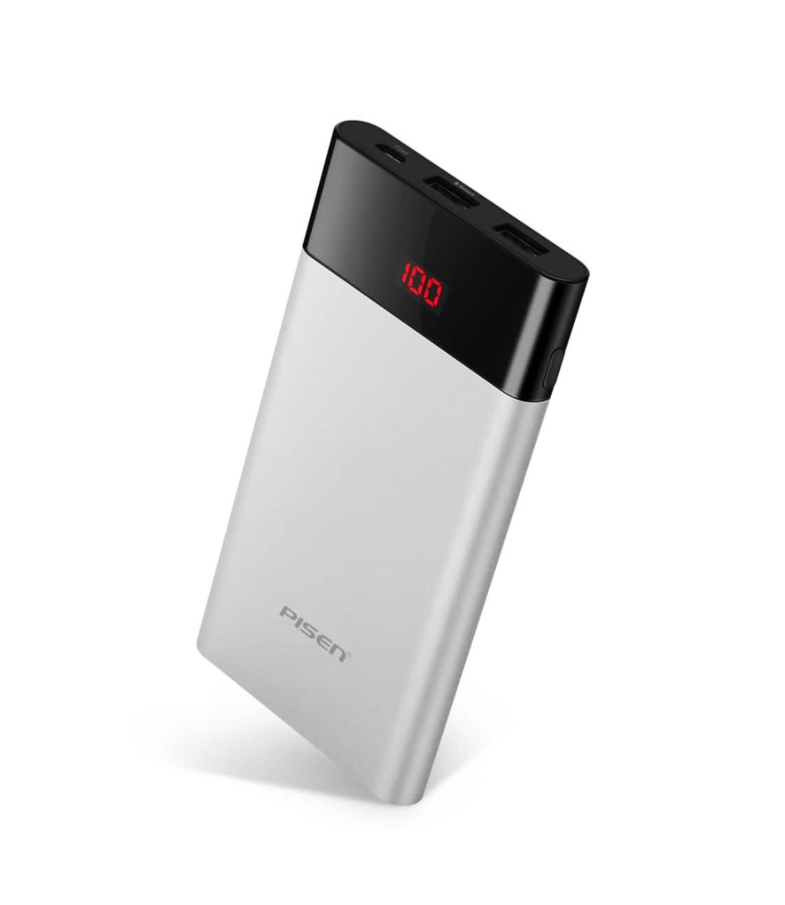 10000mAh Portable Charger w/ LED Display $14.39 @ Amazon + FS