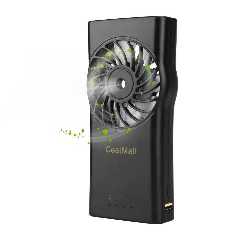USB Misting Desk Fan w/ 4400 mAh Battery $13.99 @ Amazon + FS