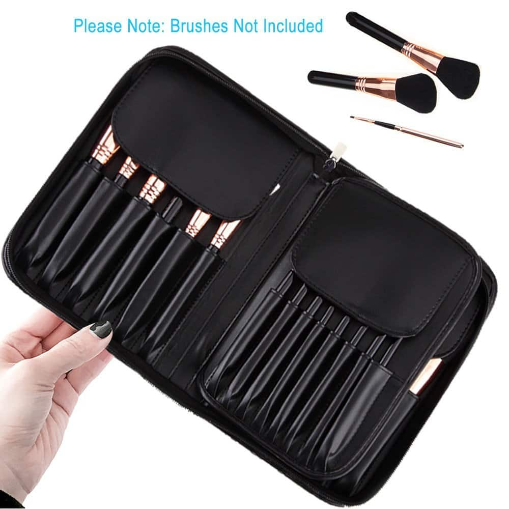 29-Pocket Makeup Brush Bag $8.49 @ Amazon + FS
