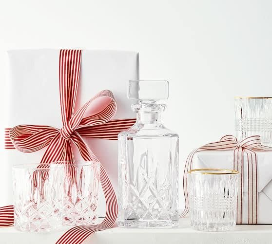 Nachtmann Noblesse Whisky Decanter and two glasses $68.99 at Potterybarn shipped free