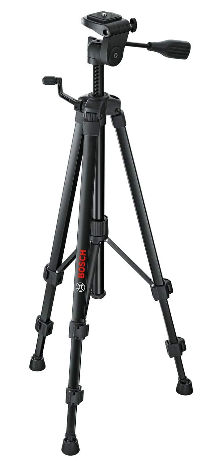 Bosch BT 150 Lightweight Compact Tripod with Adjustable Legs - Free Prime Shipping $26.94