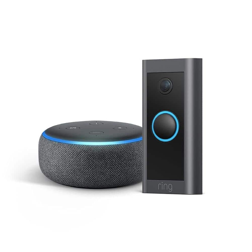 Ring Video Doorbell Wired with Echo Dot (3rd Gen) $44.99 - from Ring.com