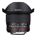 22 min left! Lightning Deal: Rokinon 12mm F2.8 Ultra Wide Fisheye Lens for Nikon DSLR Cameras - Full Frame - $419.00