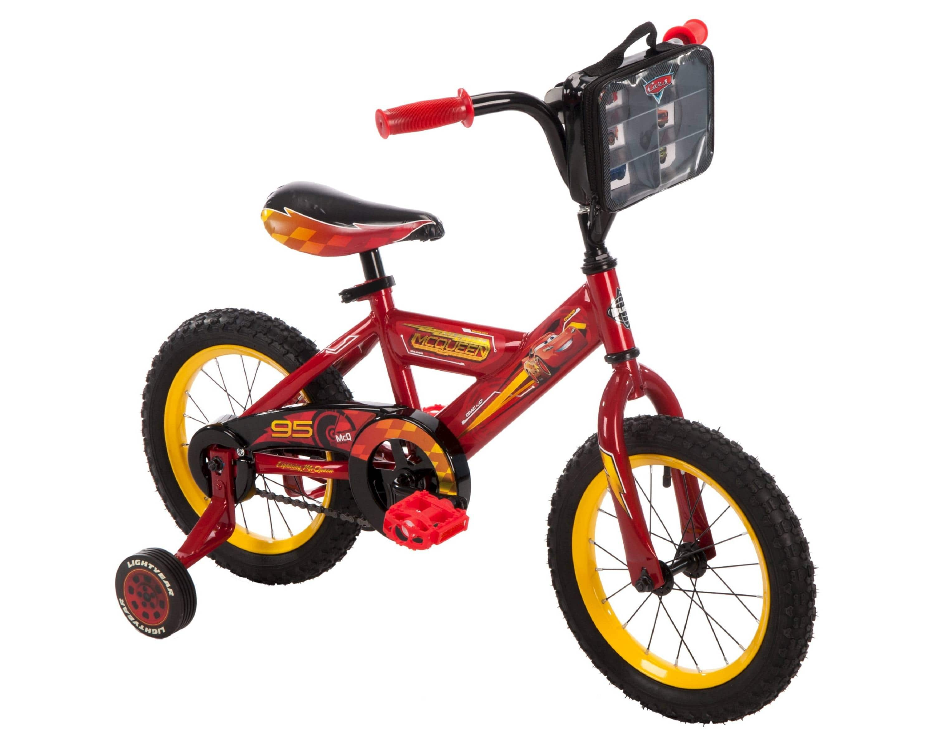 "Kids Huffy Disney Cars 3 - 14"" Bike - Red  for $58.00 (free shipping)"
