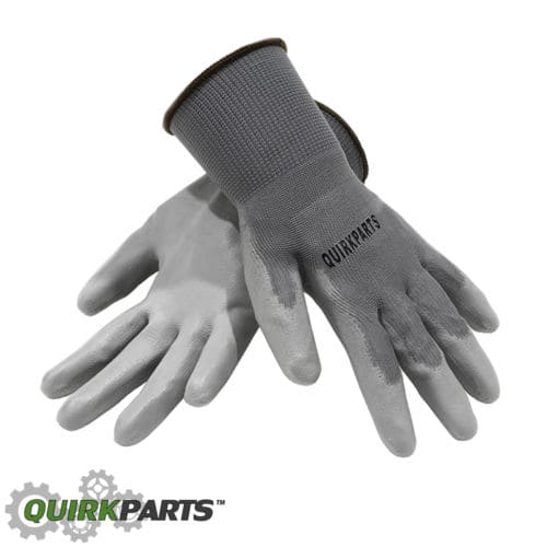 100 PAIRS Of Grey Liner Coated Gloves Unisex Automotive Work Indoor Outdoor Use $29.95 Free Shipping