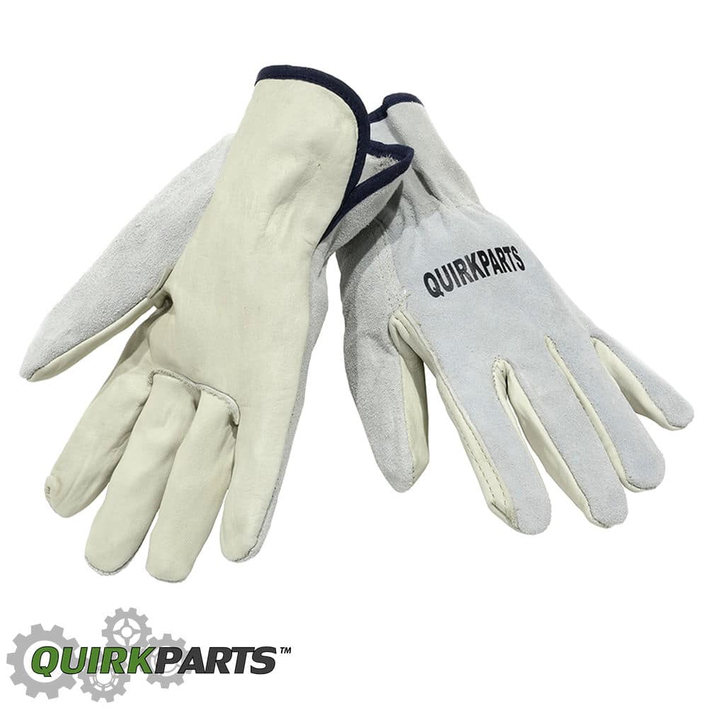 100 Pairs Of Cow Grain Leather Drivers Gloves Unisex Automotive Outdoor Work $39.95 Free Shipping!