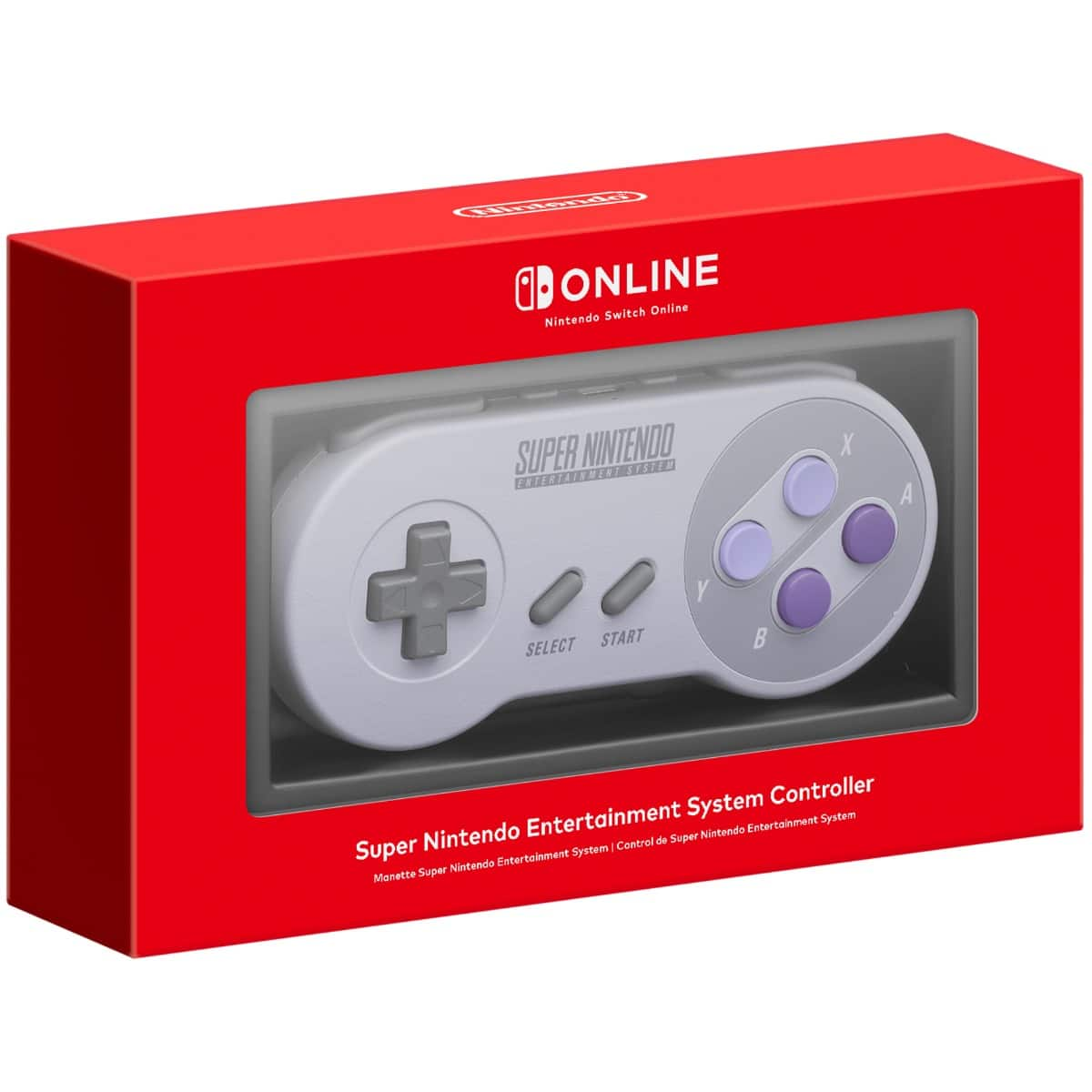 SNES Official Wireless Controllers for Nintendo Switch Available for Order Now (MSRP $29.99)