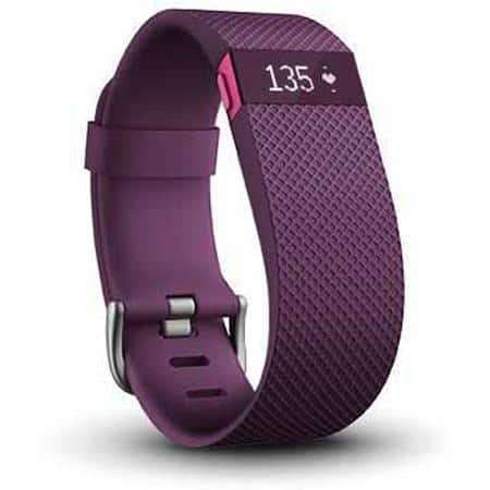 Fitbit Charge HR small plum - $99.99 Walmart