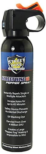 Streetwise Security Products Lab Certified Streetwise 18 Pepper Spray, 9-Ounce, Fire Master $27.03+tax @Amazon