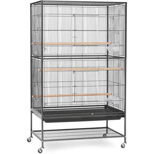 Prevue Hendryx Pet Products Wrought Iron Flight Cage [Large] $85
