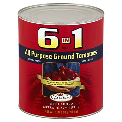 6-In-1 Ground Tomatoes (6.9 lbs Can) - $7.47 with S&S