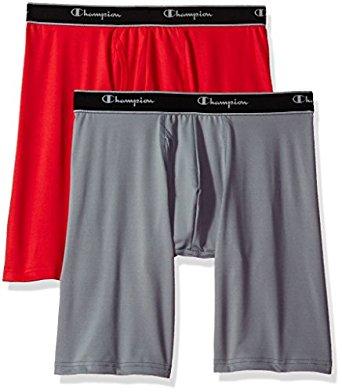 Champion Tech Performance Long Leg Boxer Briefs 2 Pack $8.53