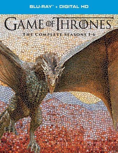 Game of Thrones Seasons 1-6 Blu-Ray + Digital Copy $69.99 (Best Buy