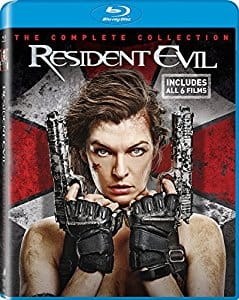 Amazon: Resident Evil The Complete Collection Blu-Ray w/Digital Copy - $5.96