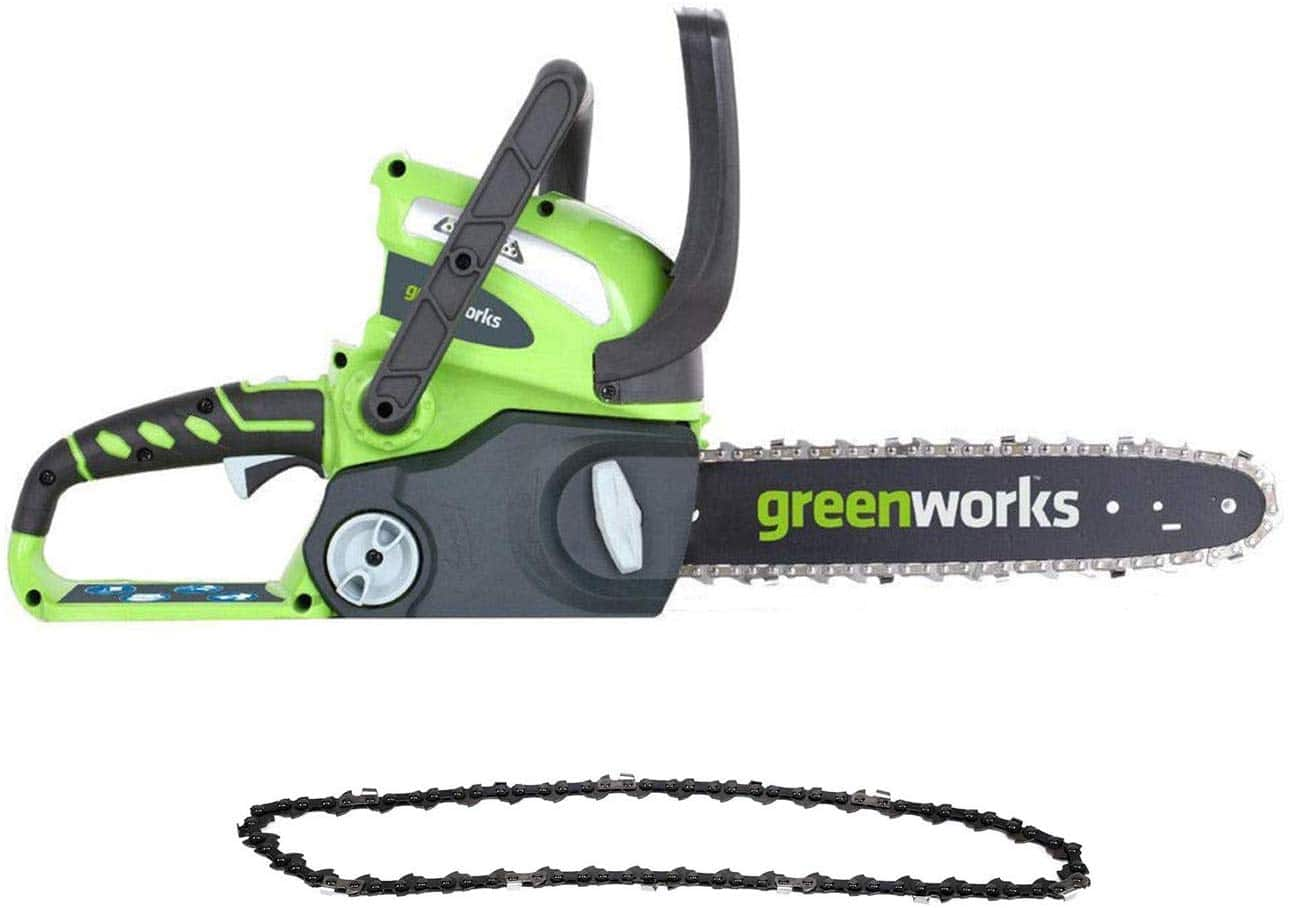 Amazon -Greenworks 12-Inch 40V Cordless Chainsaw with Extra Chain $45.67