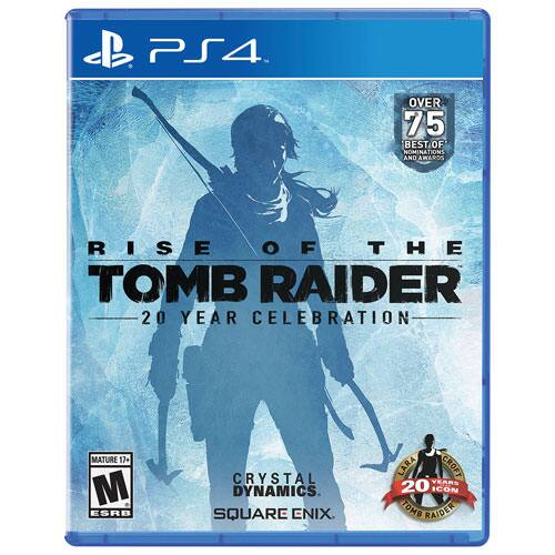 Rise of the Tomb Raider - 20 Year Celebration Edition - PS4 - $10 @ gamestop