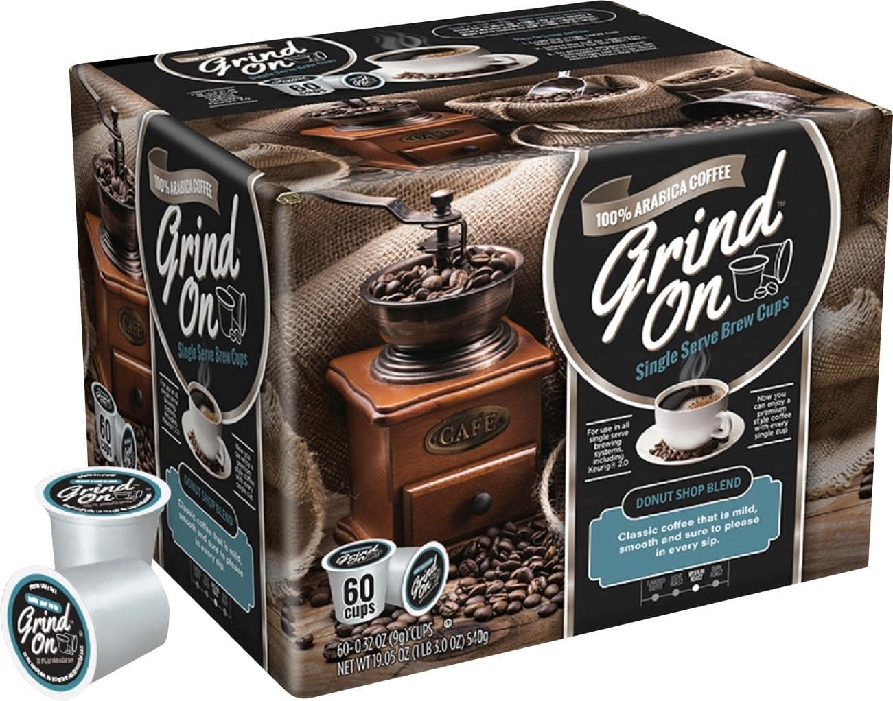 Victor Allen and Grind On K-cups deals at Best buy for $14.99 (60-pack) and $19.99 (80-pack)