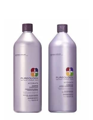 Pureology Hydrate Shampoo And Conditioner Liter Set, 33.8 Fl Oz $75 + Free Shipping