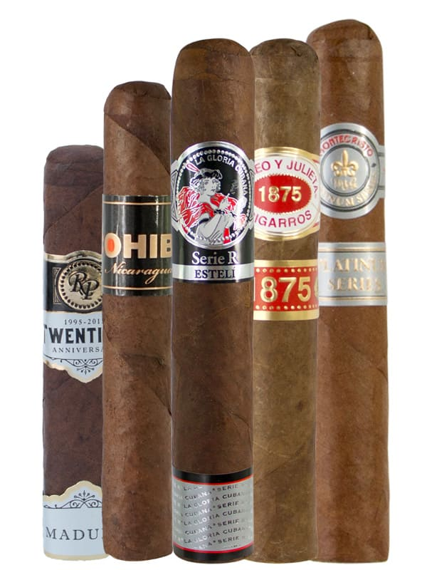 FoxCigar.com Mixed 5-Pack of Cigars - $14.99 (+ Free Shipping)