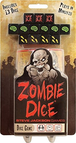Zombie Dice $4 @ Amazon *Add-On Deal*