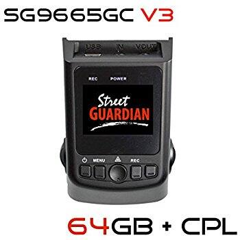 Street Guardian SG9665GC v3 2017 edition w/ 64GB Dash Cam $159.95 @ Amazon