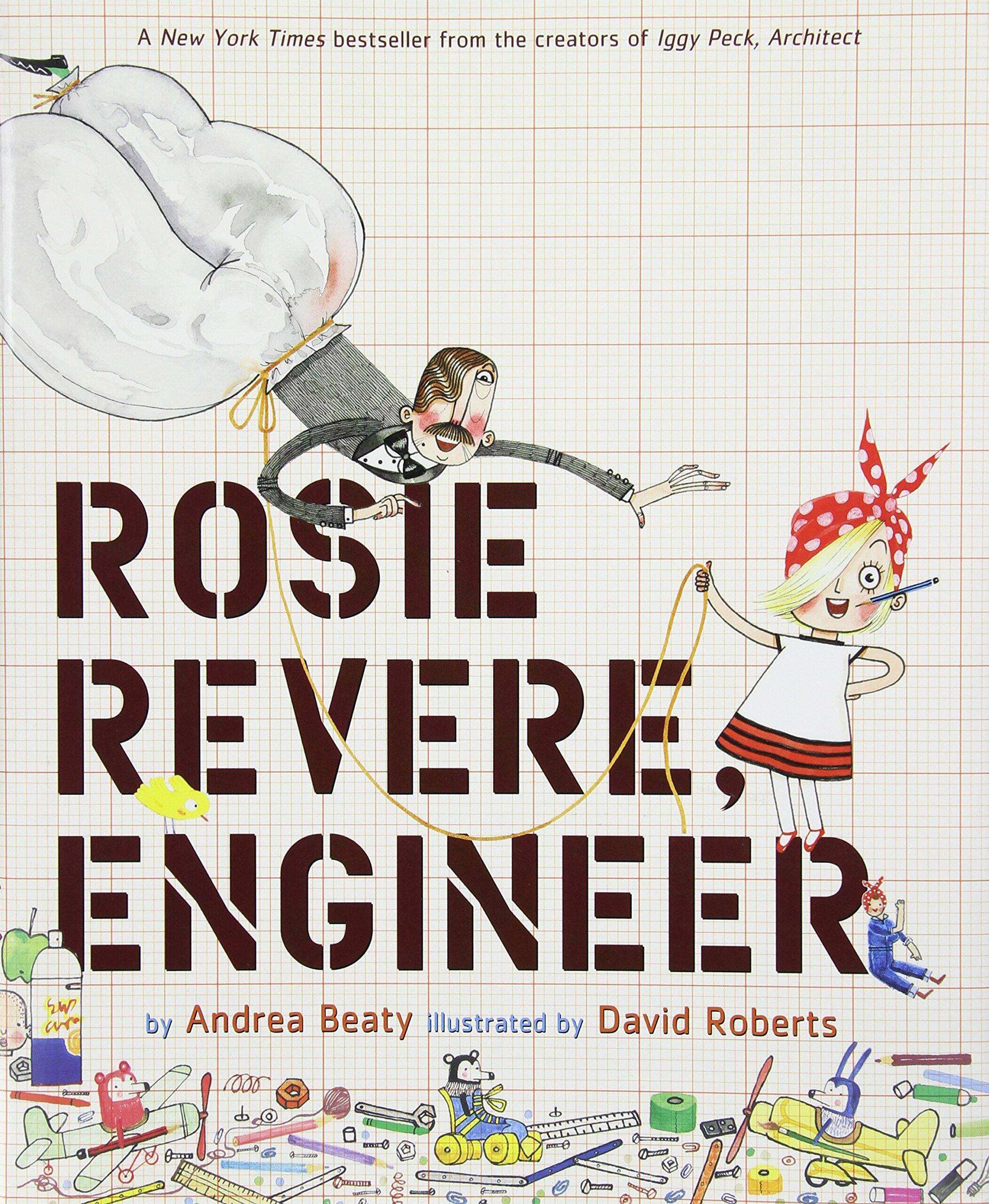 Children's books on sale (Rosie Revere, Engineer, Iggy Peck, Architect, Dragons Love Tacos, Chicka Chicka Boom Boom, Corduroy) $3.80+ at Amazon