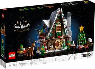 LEGO Elf Club House Building Kit 10275 In-stock $99.99 and others (Haunted House, Grand Piano, NES) @ Target