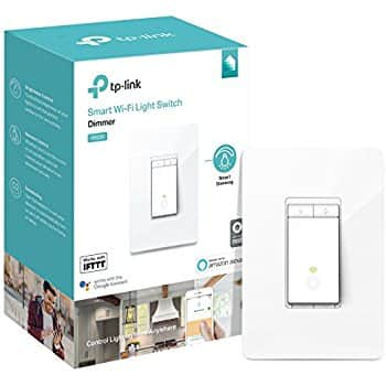 TP-Link Kasa Smart Wi-Fi HS220 Dimmer In-Wall Light Switch (No Hub Req.) - $47.99 - Amazon Prime