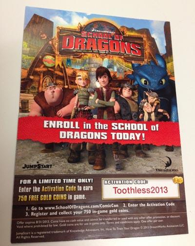 Dreamworks School Of Dragons Game Coupon Slickdeals Net