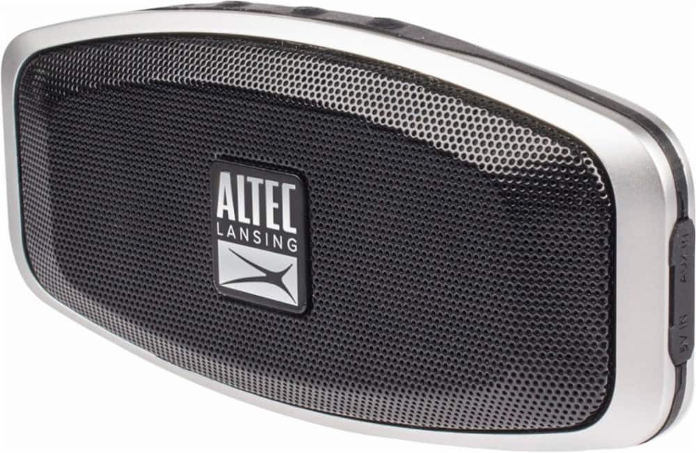 Altec Lansing - Porta Portable Bluetooth Speaker - Black $29.99