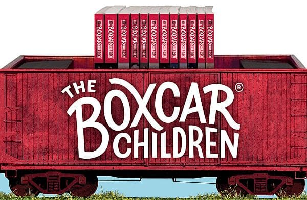 Boxcar Children Bookshelf $11.56
