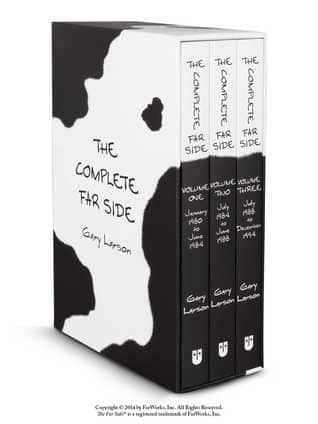 The Complete Far Side Collection (Paperback) $39.99 @ Amazon (It's Back)